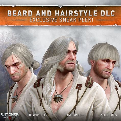 Witcher 3's Hair and Beard DLC is Taking DLCs to Next