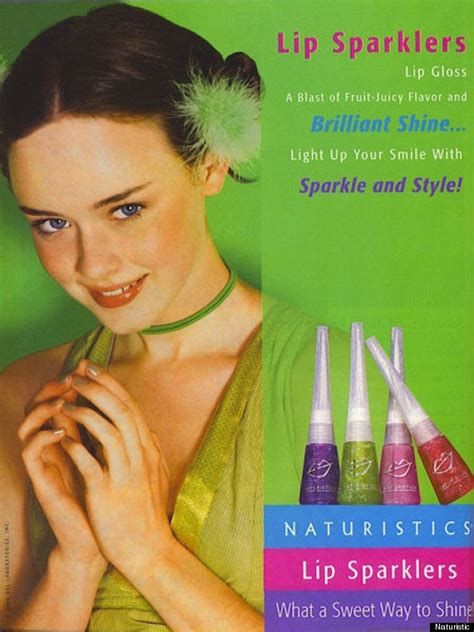 Proof Alexis Bledel Was A Lip Gloss-Loving '90s Girl Just