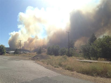 Breaking News: Boles Fire forces evacuations in Weed
