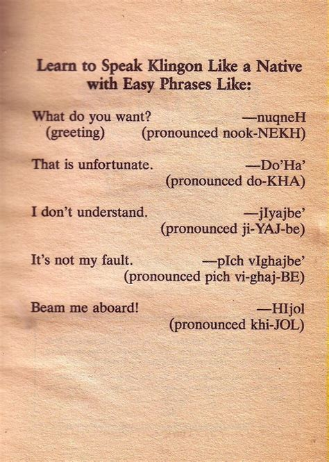 Can you speak Klingon? - Awful Library Books