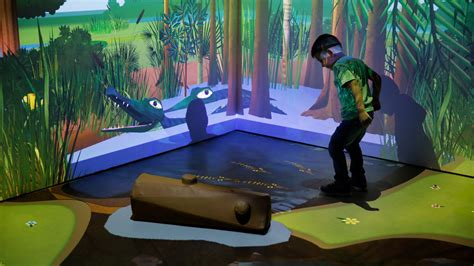 River of Grass | Interactive Wall and Floor Projection