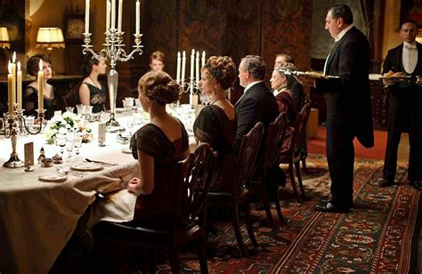 Life on: [ The Seventh Cloud ] : Dinner Downton Abbey