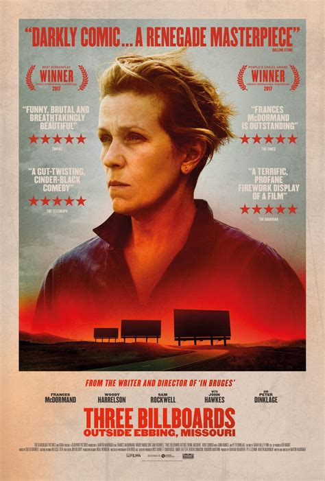 UK trailer and posters for Three Billboards Outside Ebbing