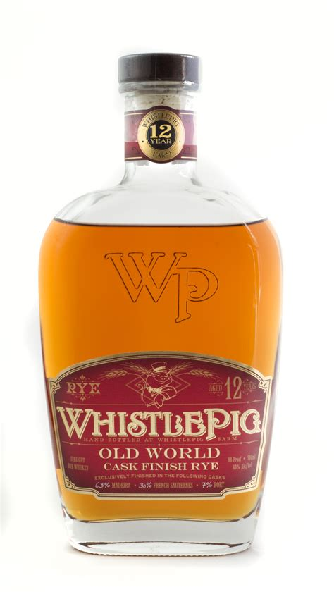 Whistlepig Old World Cask Finish Aged Rye 12 Years