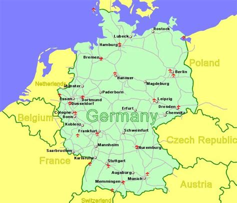 Germany Airports & Flights to Germany from the UK or Ireland