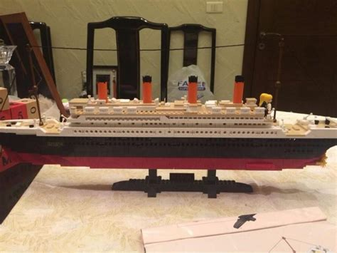 Model Building Kits Compatible With Lego City Titanic Rms