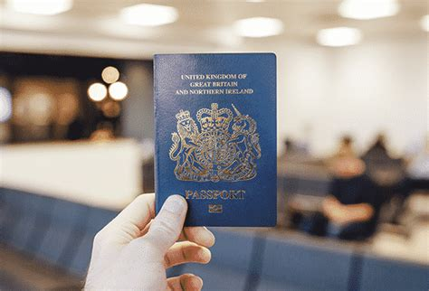 UK to bring back classic blue-and-gold passport as leaves