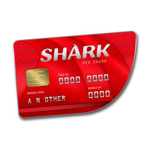 Grand Theft Auto Online: Red Shark Cash Card - PC