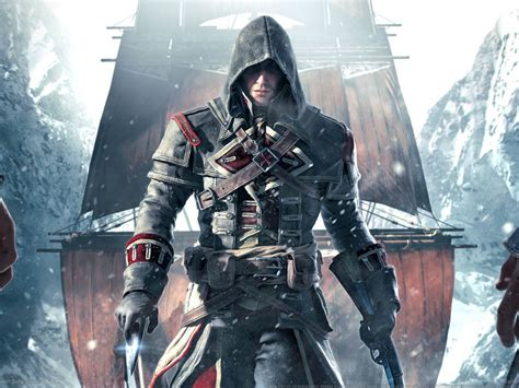 Assassin's Creed Rogue Remastered Announced For PS4 And