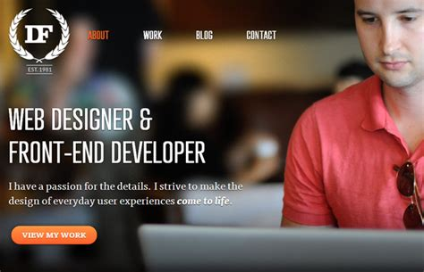 Large Background Images in Web Design: Tips and Examples