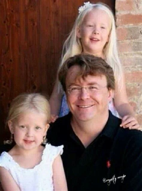 Prince Friso and his daughters, Countess Luana and