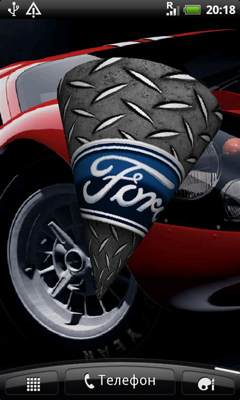 Free Ford Logo 3D Live Wallpaper APK Download For Android