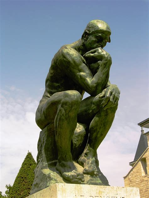 The Thinker, by Auguste Rodin, 1902 | The Core Curriculum