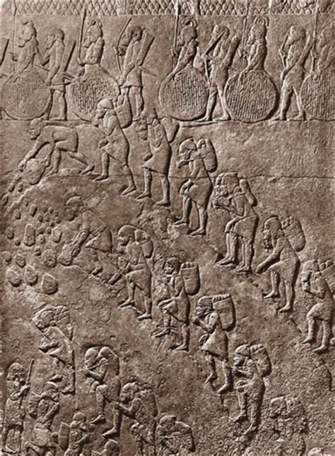 Ancient Replicas - Relief of Slaves in a Quarry