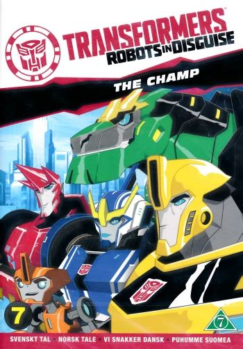 Transformers - Robots in disguise - Säsong 1 Vol 3 - The