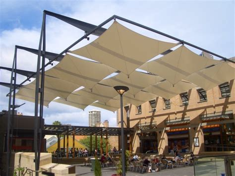 Shade sails, shade structures, tension structures