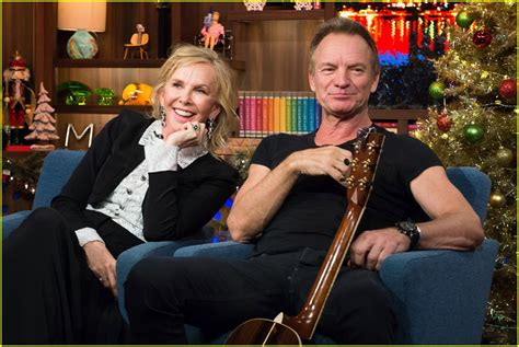 VIDEO: Andy Cohen Kisses Sting While Playing Spin the