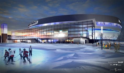 Quebec City Unveils Images of New Arena; Could NHL Follow?