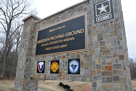 Ceremonial entrance gate signs nearly complete - APG News