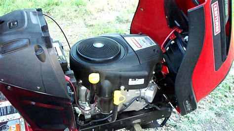 Craftsman YT4000 Lawn Tractor 24HP Briggs and Stratton
