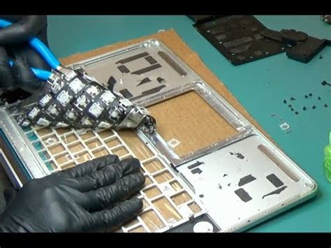 """2015 Macbook Pro 15"""" A1398 Keyboard Touchpad Replacement"""