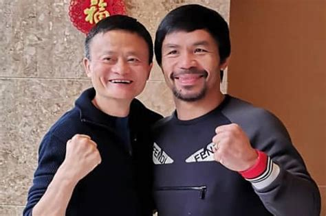 LOOK: Pacquiao meets Chinese internet tycoon Jack Ma   ABS