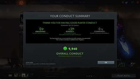 How to check your Dota 2 behavior score in-game   Dot Esports