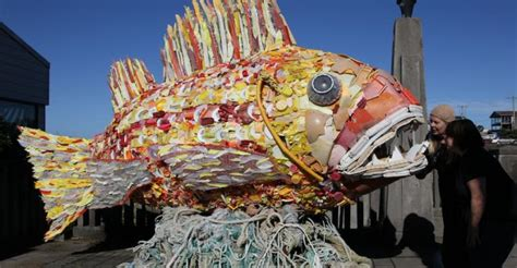 Sea Change: Recycling Ocean Trash Into Influential Art