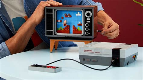 LEGO's New Original NES Set Comes With a Console and '80s