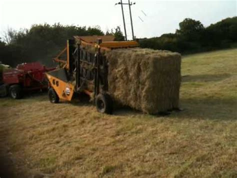 McConnell Bale Packer for sale - YouTube