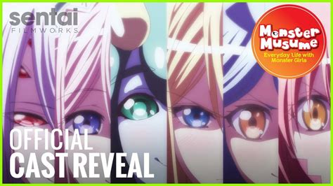 Monster Musume Official English Dub Trailer + Cast Reveal