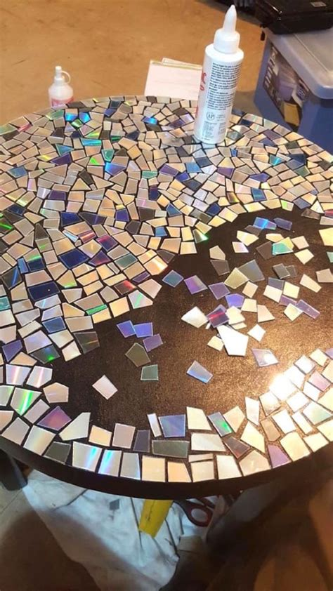 He Cuts His Old CD Collection Into Pieces