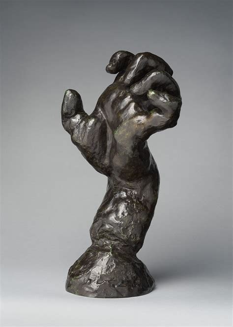 Auguste Rodin | The Clenched Left Hand (Study for Hand of