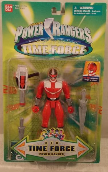 """""""OUT OF STOCK"""" Power Rangers Time Force - 5"""" Red Ranger"""